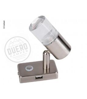 LAMPARA LED 12V CON PUERTO...