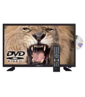 """TELEVISOR + DVD 24"""" 12V Y 230V"""